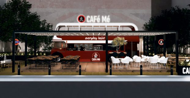 Red Bus: Η νέα 2όροφη καντίνα των CAFe Me
